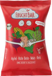 FruchtBar Snack Knusper-Bären Apfel, Rote Beete, Mais & Reis ab 12 Monaten
