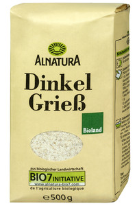 Alnatura Bio Dinkelgrieß 500 g