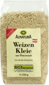 Alnatura Bio Weizenkleie grob 250 g