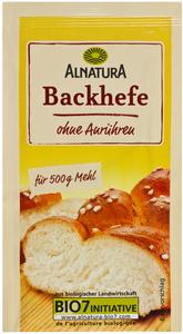 Alnatura Bio Backhefe 9 g