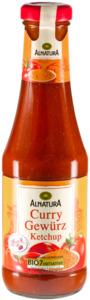Alnatura Bio Curry Gewürz Ketchup 0,5 ltr