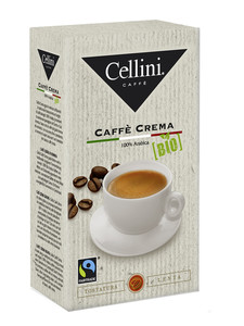 Cellini Bio Caffè Crema ganze Bohnen 250 g
