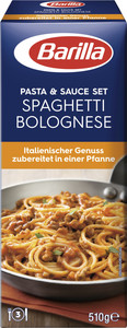 Barilla Koch-Set für Spaghetti Bolognese 510 g