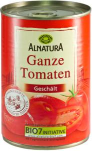 Alnatura Bio ganze Tomaten geschält 400 g