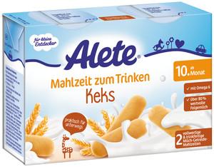 Alete Mahlzeit zum Trinken Keks ab dem 10. Monat 2x 200 ml