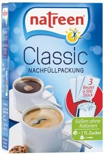 Natreen Tafelsüße Classic Nachfüllpackung 3x 500 Stk