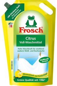 Frosch Citrus Waschmittel flüssig 1,8 L 18 WL