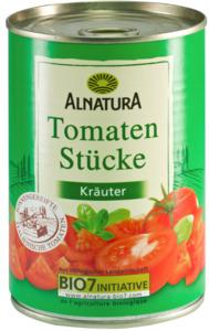 Alnatura Bio Tomaten in Stücke Kräuter 400 g