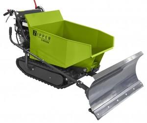 Zipper Miniraupendumper ZI-MD500H ,  4-Takt OHV, 4,8 KW, 500 kg, inkl. Schneeschild