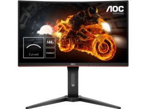 AOC C24G1 24 Zoll Full-HD Gaming Monitor (1 ms (Grau zu Grau) Reaktionszeit, FreeSync, 144 Hz)