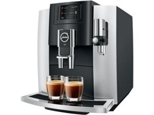 JURA E8 Modell 2018, Kaffeevollautomat, 1.9 Liter Wassertank, Platin