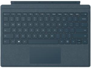 MICROSOFT Surface Pro Signature Type Cover Kobalt Blau, Tastatur