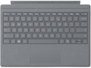 MICROSOFT Surface Pro Signature Type Cover Platin Grau, Tastatur