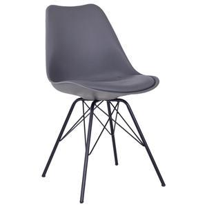 Stuhl Grau/Schwarz