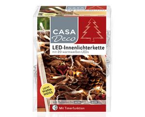 CASADeco LED-Innen- oder Mikrolichterkette