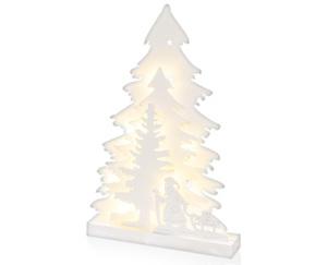 CASADeco LED-Holz-Silhouette