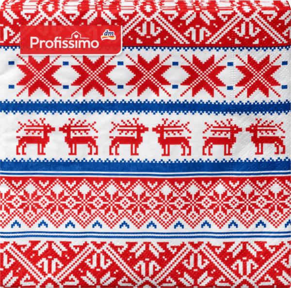 Weihnachten Motiv-Servietten (33 x 33cm)