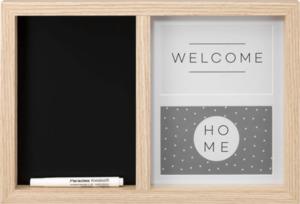 Paradies Bilderrahmen mit Kreidetafel 2x10x15 cm + Kreidestift