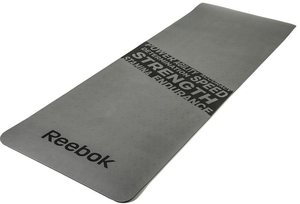 Reebok Fitnessmatte, »Fitness Mat Grey/Strength«