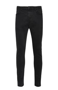Schwarze Skinny-Jeans mit Stretch