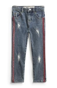 Jeans mit Glitzerstreifen (Teeny Girls)