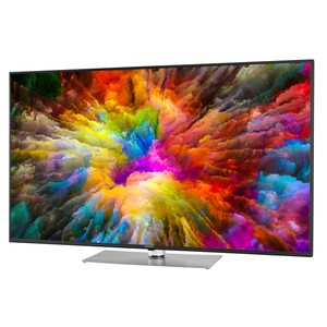 "MEDION LIFE® X16524 Smart-TV, 163,8 cm (65"") Ultra HD Display, HDR, Dolby Vision, PVR ready, Netflix, Bluetooth®, DTS HD, HD Triple Tuner, CI+, inkl. 2.1 TV Soundbar E64126"