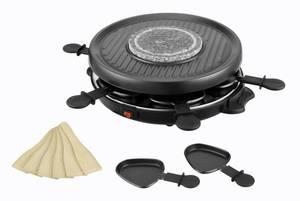 3 IN 1 Raclette-Grill, heißer Stein und Fondue Kalorik