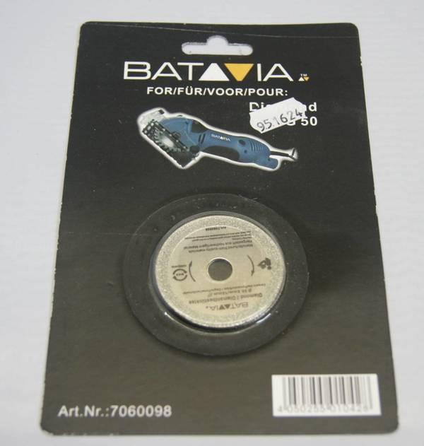 Diamant Sägeblätter, D:50 mm, 2 Stück BATAVIA
