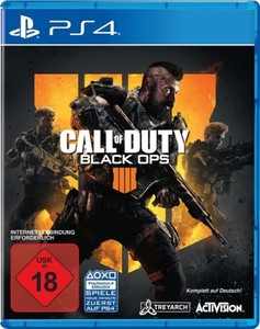 PS4 Spiel Call of Duty: Black Ops 4 ,
