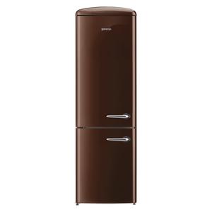 Gorenje ORK 193 CH-L Braun (Dark Chocolate) Kühl-/Gefrierkombination, A+++, 227/95 Liter, 194 cm-