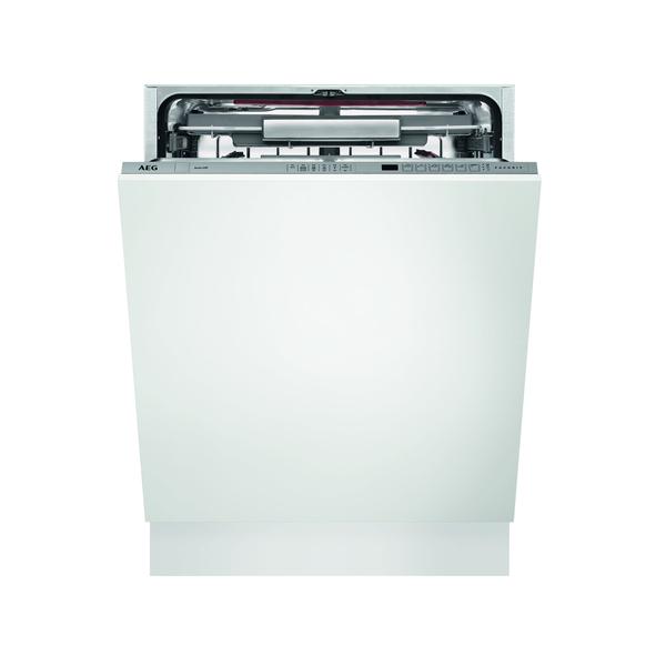 Aeg Fse62800p Silber Einbau Geschirrspüler Vollintegrierbar 60 Cm