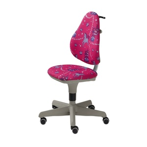 Drehstuhl Pink/Motiv Einhorn