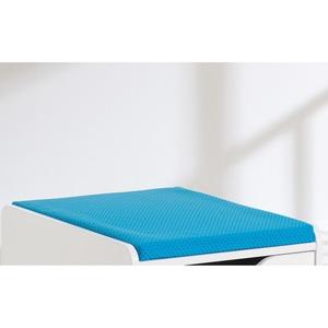 Sitzpolster Stoffbezug Blau