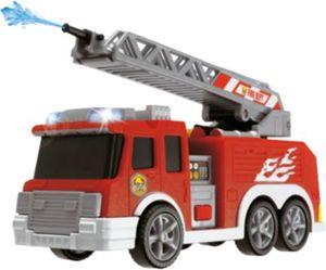Feuerwehr mit Wasserspritze