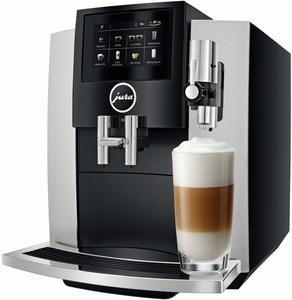 JURA S8 (Modell 2018) Kaffee-Vollautomat Moonlight Silver