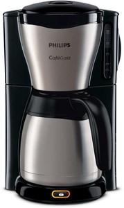 Philips HD7548/20 Gaia Collection Kaffeeautomat mit Thermokanne edelstahl/schwarz