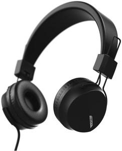 Hama Next On-Ear-Kopfhörer mit Kabel schwarz