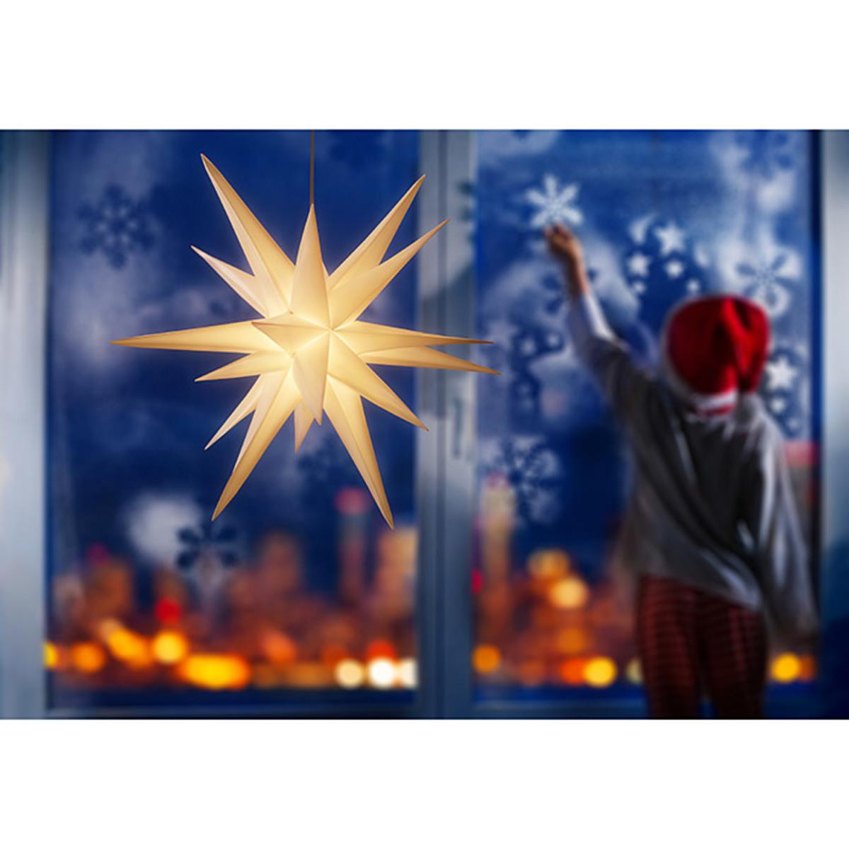 Bild 5 von Tween Light LED-Stern 3D hängend