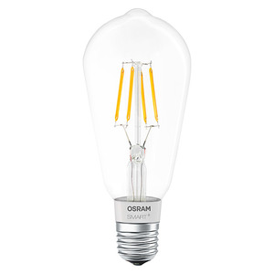 Osram Smart+ Bluetooth LED-Leuchtmittel Edison 60 Filament
