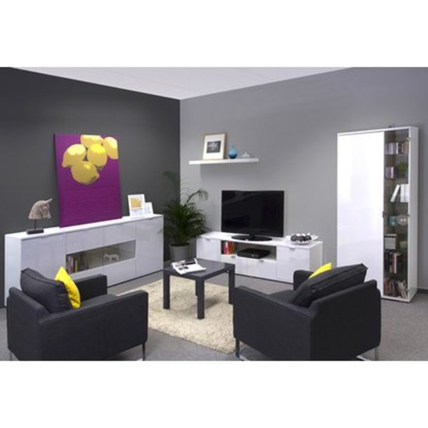 Wohnzimmer Komplett-Set 3-teilig in Brilliant-Weiß von OBI ansehen ...