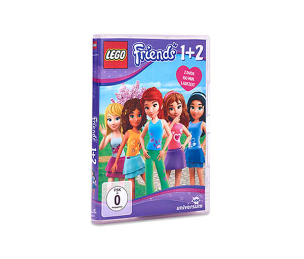Doppel-DVD »LEGO® Friends 1 + 2«