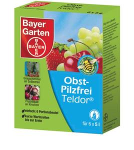 Obst Pilzfrei Teldor, 30 g - schützt vor Grauschimmel und Monilia Bayer