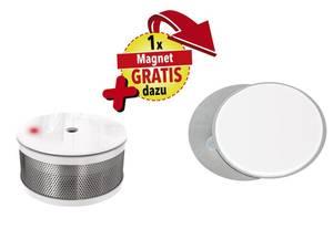 Jubiläums-Rauchmelderset bestehend aus 10 Jahres-Rauchmelder CC-7 + GRATIS dazu Magnetpad