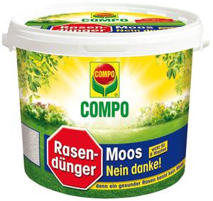 Rasendünger Moos - Nein danke, 4 kg für 160 m² Compo