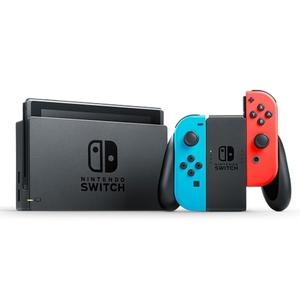 Nintendo - Switch: Konsole, Neon rot/blau