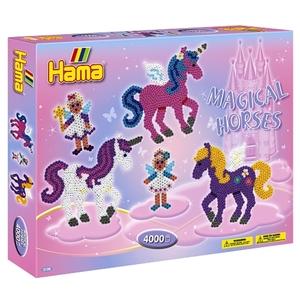 HAMA - Bügelperlen: Geschenkpackung Zauberhafte Pferde