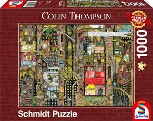Schmidt Puzzle Fantasie Stadtbild 1000 Teile