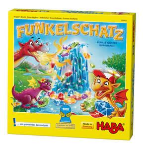 "HABA             Funkelschatz ""Kinderspiel des Jahres 2018"""