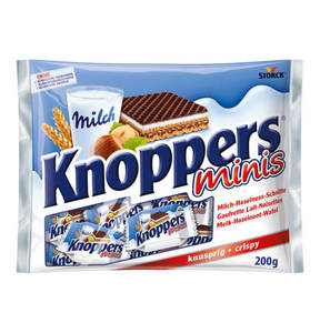 KNOPPERS             Minis, 200g