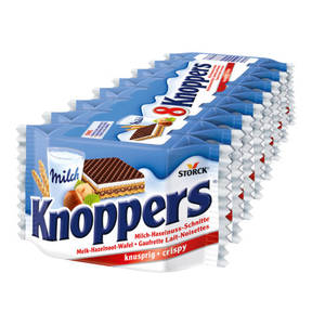 KNOPPERS             Multipack, 8x25g